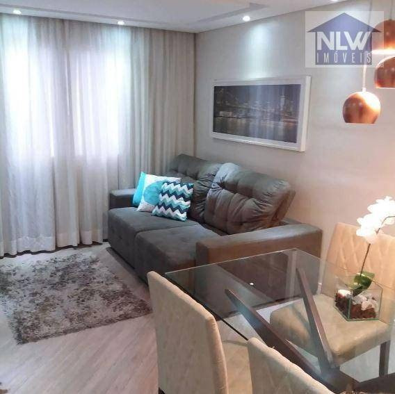 Apartamento Com 1 Dormitório À Venda, 50 M² Por R$ 201.400 - Bom Clima - Guarulhos/sp - Ap1660