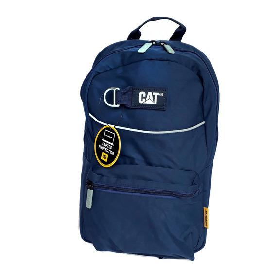Mochila Cat Caterpillar Selfie Backpack Navy 83423 Nylon
