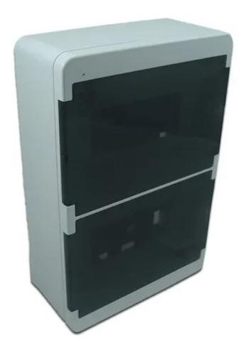 Imagen 1 de 1 de Caja Para Térmicas 16 Módulos Din Roker Exterior Pr616