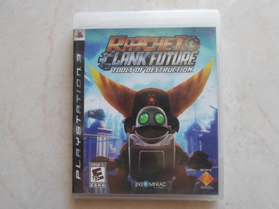 Ratchet Clank Future Tools Of D. Ps3 Mídia Física Original