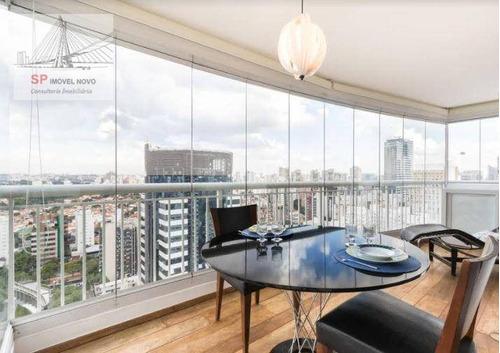 Apartamento À Venda, 75 M² Por R$ 1.200.000,00 - Brooklin - São Paulo/sp - Ap11067