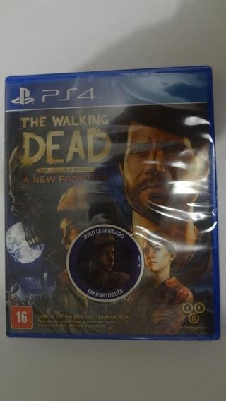 The Walking Dead A New Frontier Ps4 Física - Novo E Lacrado