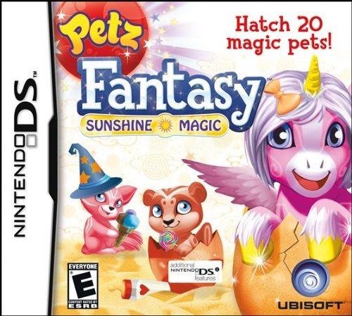 Petz Fantasy Sunshine Magic Nds Novo Lacrado Original Nf