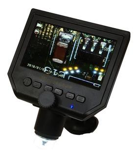 Microscópio Digital C/ Monitor Lcd 4.3 Full Hd 600x