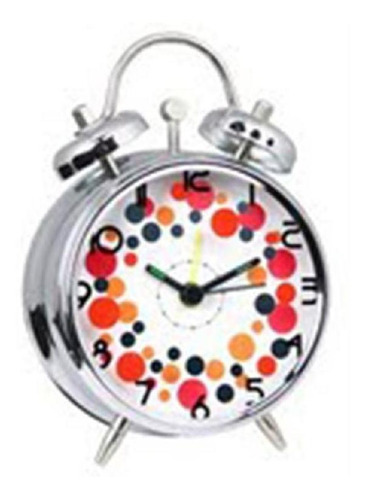 Reloj Despertador 2 Campanas N9408e6rd