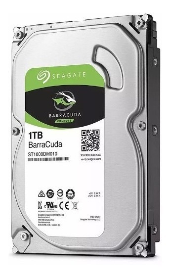 Disco Duro Int 1tb Sata 6 Gb/s 64mb Barracuda Seagate - Mza