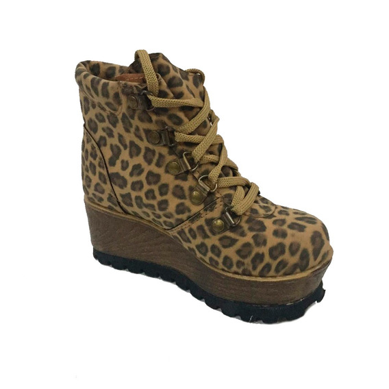 Borcego Acordonado Leopardo - 3c2235