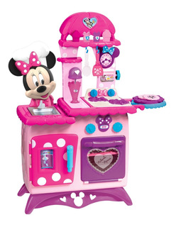 Cocina Minnie Mouse Con Luces Y Sonidos Original Disney.