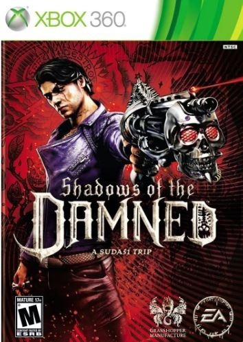 Jogo Shadows Of The Damned Xbox 360 Mídia Física - Lacrado