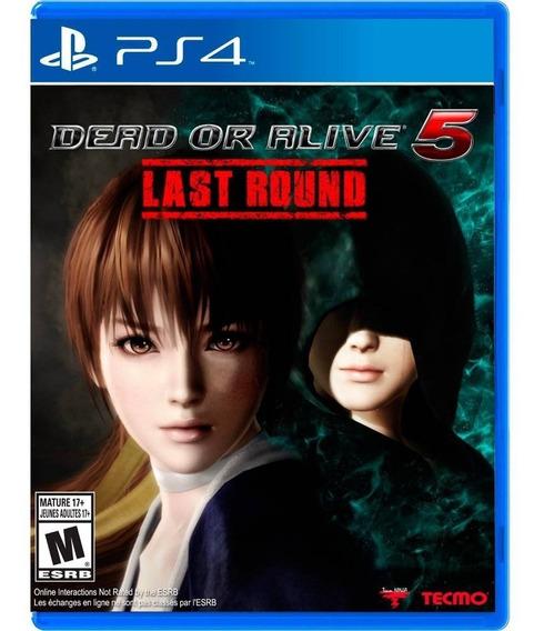 Game Ps4 Dead Or Alive 5 - Original - Novo - Lacrado