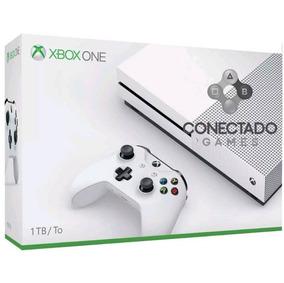 Xbox One S Hd 1tb 4k Branco Microsoft Pode Retirar