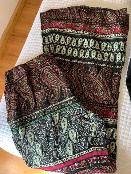 Pantalón Hippie Pierna Ancha Estampado