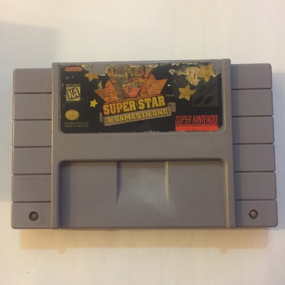 Kirby Super Star 8 X1 Super Nintendo Original