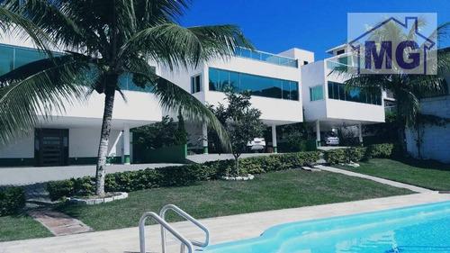 Imagem 1 de 20 de Casa À Venda, 290 M² Por R$ 1.350.000,00 - Cancela Preta - Macaé/rj - Ca0041