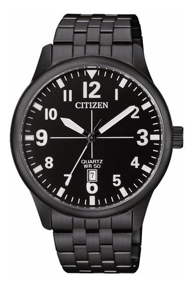 Reloj Citizen Color Negro Para Caballero Bi1055-52e