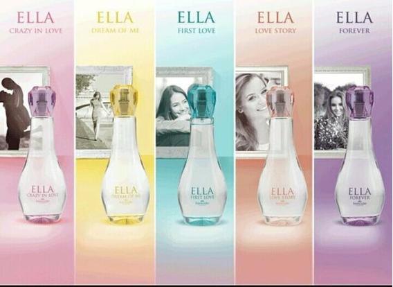 Perfume Feminino Ella Hinode 100 Ml Original Variasversoes