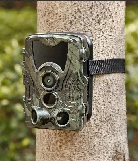 Câmera De Trilha Caça Trap Noturna 16mp Vídeo Full Hd Hc801a