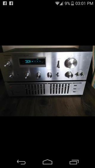 Amplificador Pioneer Y Esqualizador
