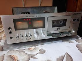 Tape Deck Gradiente Cd 3500 Com Alguns Detalhes!
