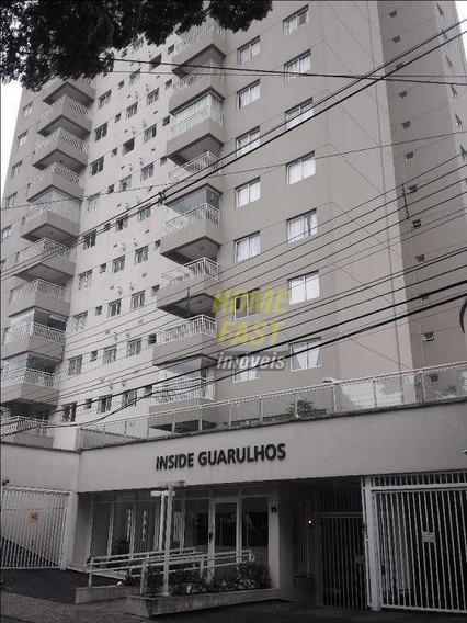 Apartamento Com 1 Dormitório Para Alugar, 30 M² Por R$ 1.600,00/mês - Gopoúva - Guarulhos/sp - Ap0694