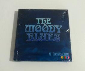 Cd Moody Blues 5 Classic Albums Threshold Question Traffic