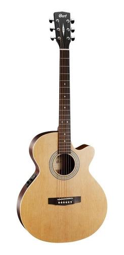 Guitarra electroacústica Cort SFX-ME  abeto  open pore derecha
