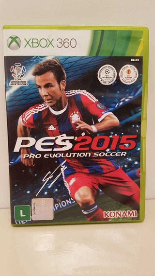 Pes 2015 Pro Evolution Soccer Xbox 360 Midia Física P/entreg