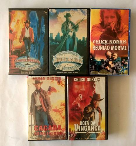 Chuck Norris É A Lei - Texas Ranger - Vhs Dvd