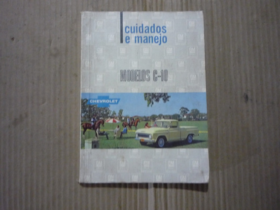 Manual Proprietário Chevrolet C-10 1970