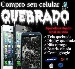 Compramos Com Tela Quebrada Moto G6 , G6 Play E Moto G6s