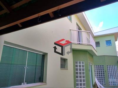 Sobrado Com 3 Dormitórios À Venda, 267 M² Por R$ 955.000 - Vila Scarpelli - Santo André/sp - So22587