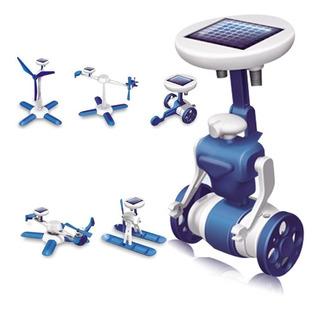 Kit Robotica Ecologica Solar 6 En 1 Ecologico Pack 3 Cajas
