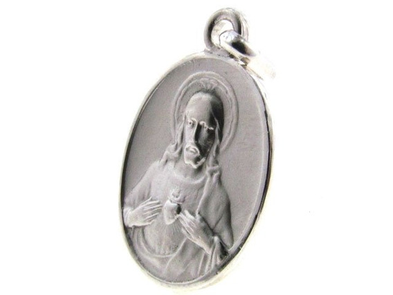 Medalla De Plata Sagrado Corazón (24962)