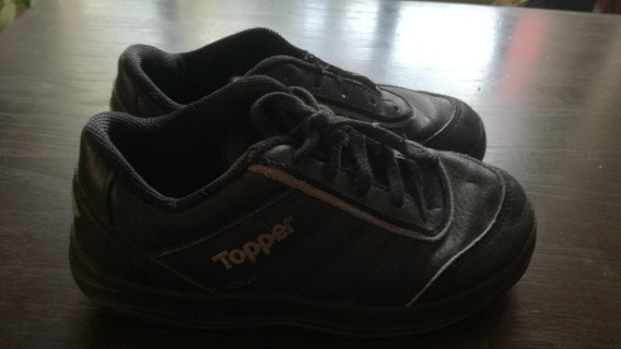 Zapatillas Negras Topper 32/33