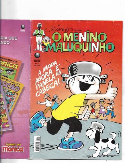 Gibi Menino Maluquinho Nº 11 Moda Panela-2005( Black Friday)