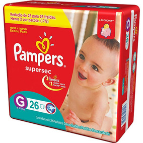 Kit Pampers Supersec M 120unidades