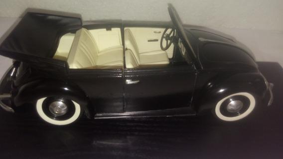 Miniatura Fusca Volkswagen Cabriolet Conversível-escala 1:18