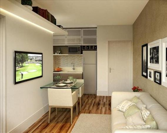 Apartamento Em Campo Belo, São Paulo/sp De 31m² 1 Quartos À Venda Por R$ 550.000,00 - Ap163870