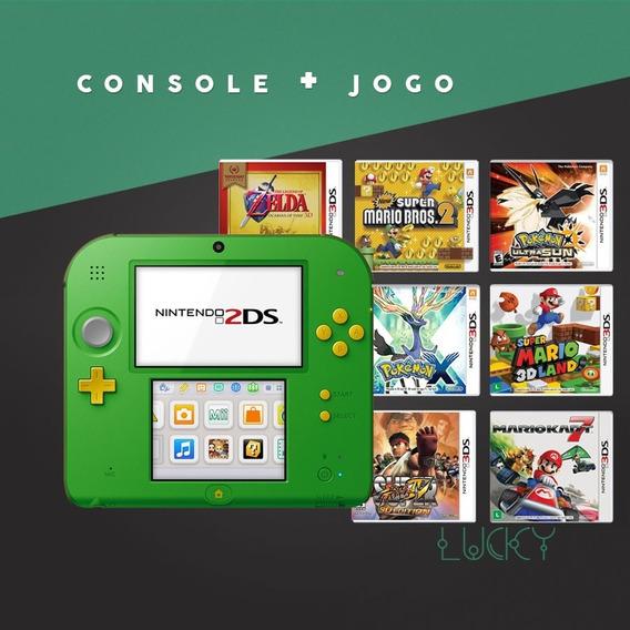 Nintendo 2ds + Jogos Instalados!