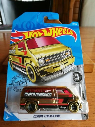 Hot Wheels Custom 77 Dodge Van