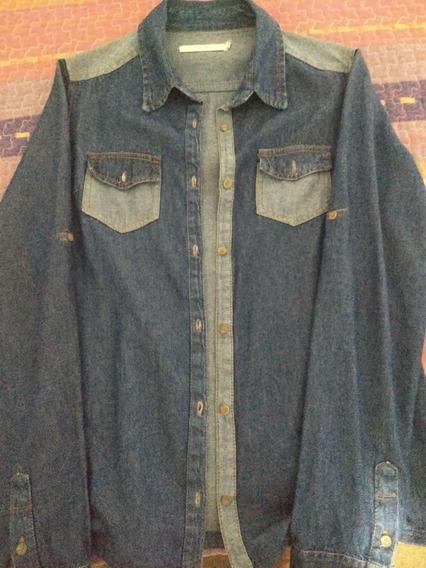Lote 2 Camisas Jean Soho Y Manos Argentinas Mujer Larga 42