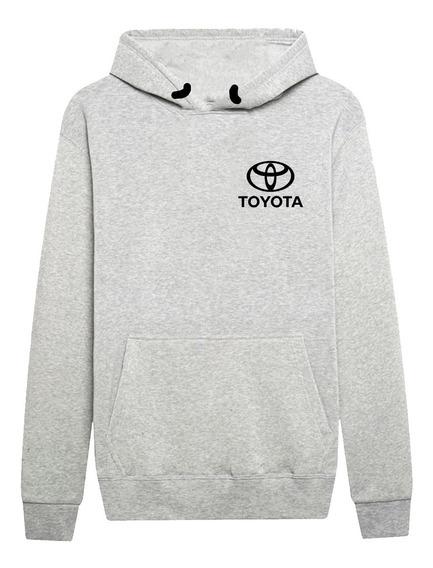 Moletom Agasalho Casaco Logo Toyota Carro Luxo Blusa De Frio