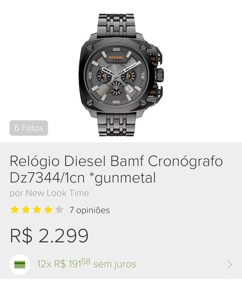 Relógio Diesel Masculino Original Novo