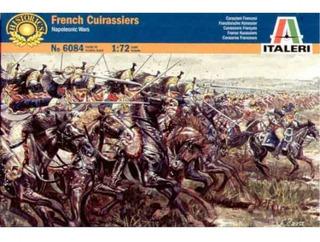 French Cuirassiers Napoleonic Wars Escala 1/72 Italeri 6084
