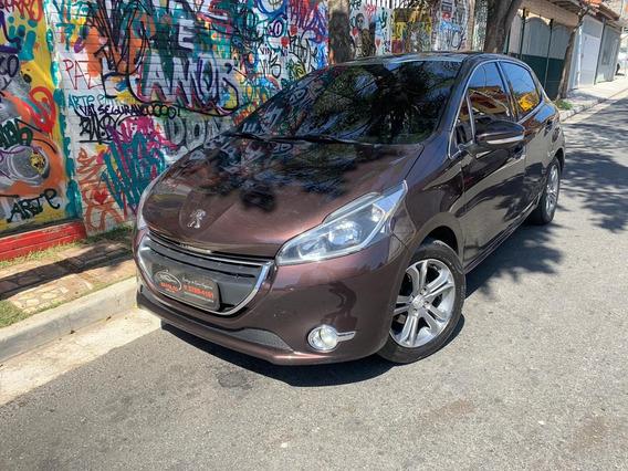 Peugeot 208 1.6 Griffe Automático Teto Solar 2015 Completo