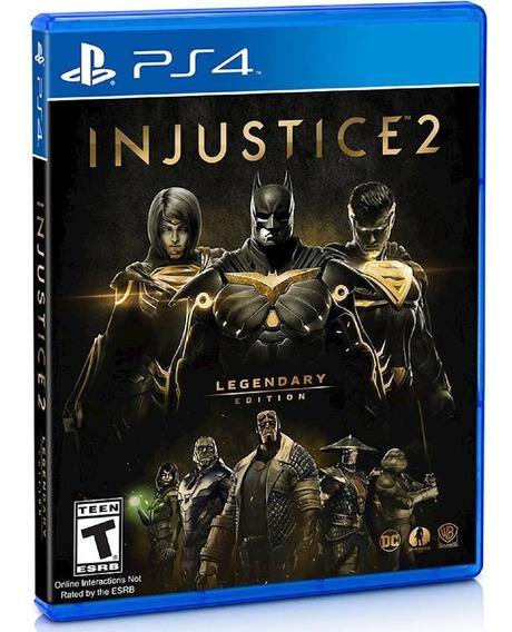 Injustice 2 Legendary Edition - Ps4 - Novo - Midia Fisica