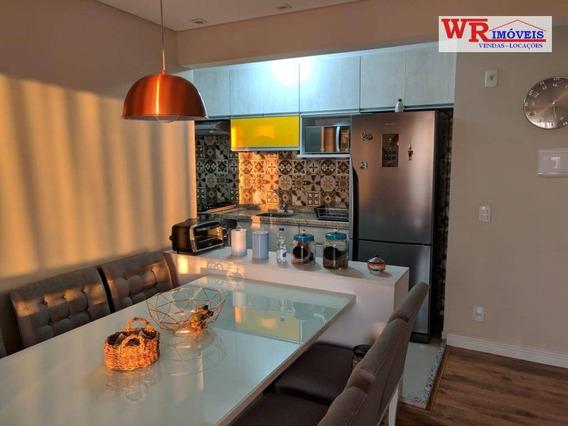 Apartamento Com 3 Dormitórios À Venda, 62 M² Por R$ 370.000,00 - Vila Metalúrgica - Santo André/sp - Ap2851