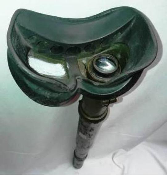 Antigo Telescópio Com Máscara Facial - Militaria 2 Guerra