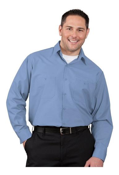 Camisa De Trabajo Uniforme Industrial Algodon Resistente #20