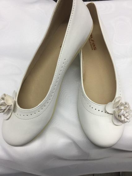Zapatos Comunion Y Fiestas Del 30 Al 38 Blancos